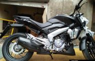 Bajaj Dominar 400 Matte Black Color Seen At Dealership - Available At Same Price