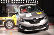 Renault Kaptur Crash Test Results in Full Five Star Rating - India Launch in 2018