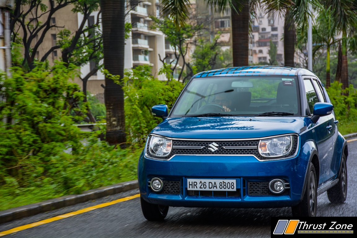 What Does Abs Stand For In A Car >> Maruti Ignis Diesel AMT Review, First Drive