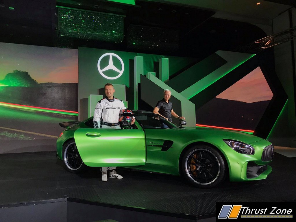 Mercedes Amg Gt R And Amg Gt Roadster Launched In India Know Prices