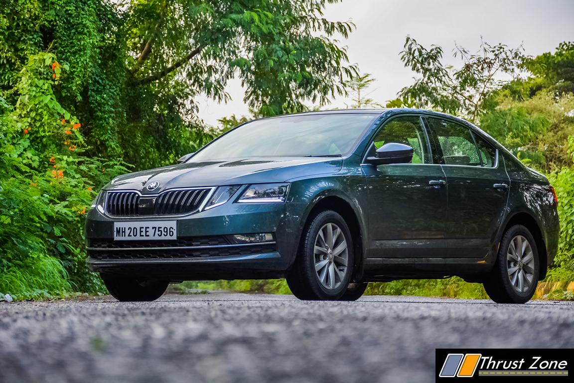 2017 skoda octavia petrol review first drive. Black Bedroom Furniture Sets. Home Design Ideas