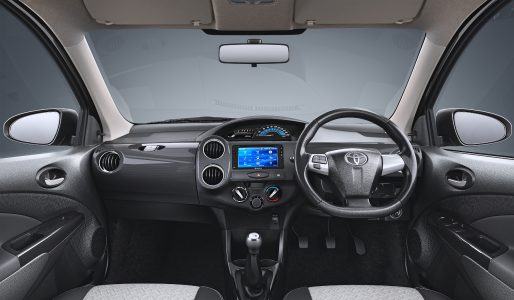 Etios Cross X Edition_Dashboard
