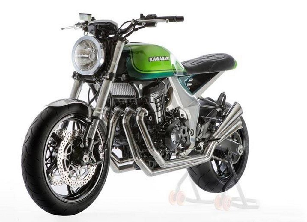 kawasaki z900rs is a classic motorcycle with a sporty. Black Bedroom Furniture Sets. Home Design Ideas