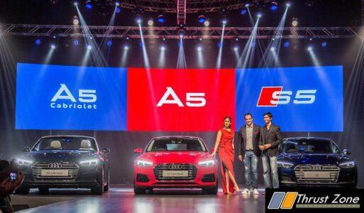 2017 Audi A5 Sportback, A5 Cabriolet, S5 Sportback India (2)