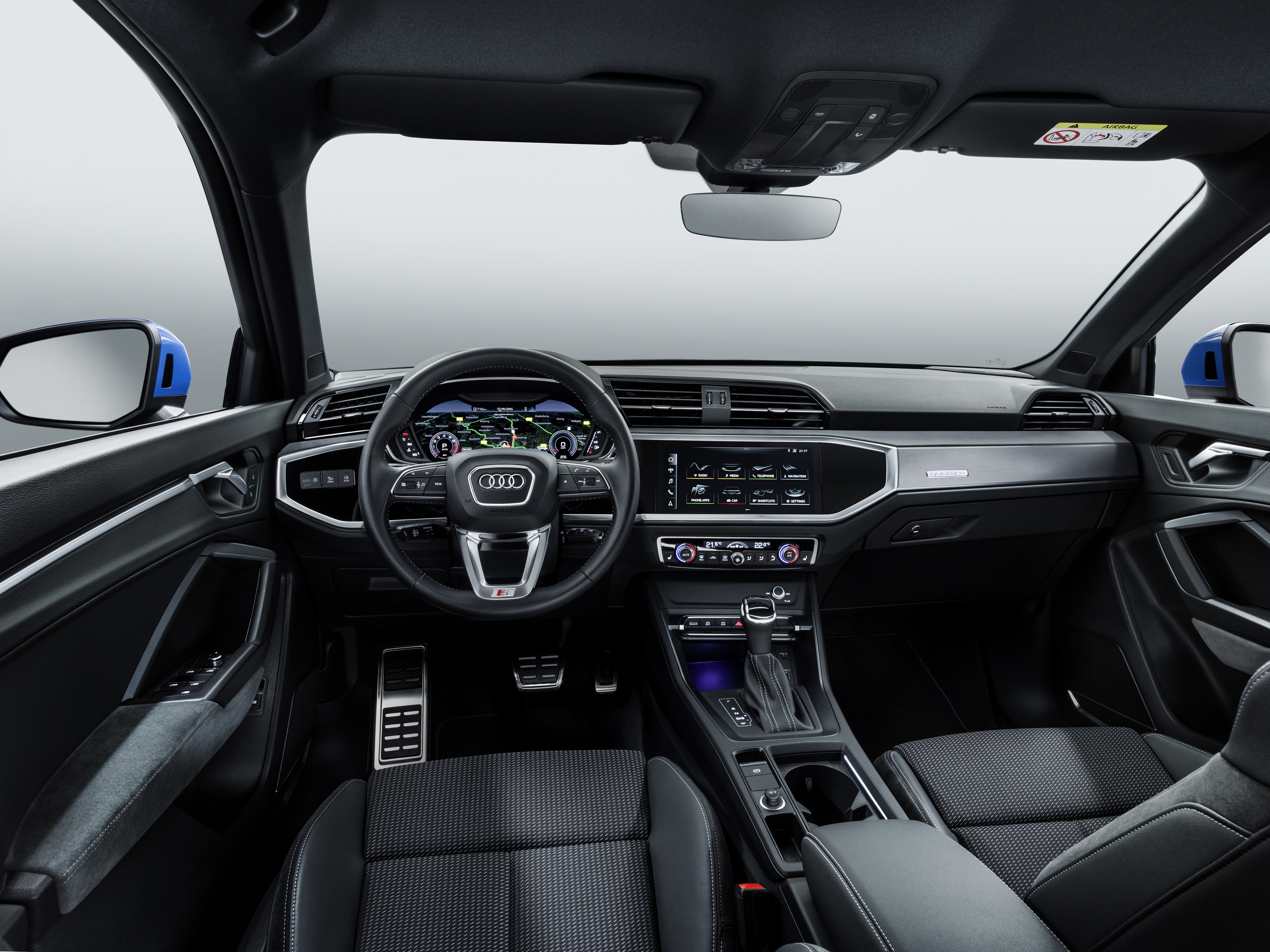 Next Gen 2019 Audi Q3 Unveiled Interior Is The Highlight
