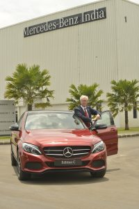 Mercedes Benz launches C-Class Edition C in India (2)