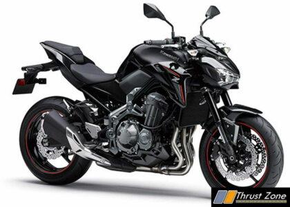 Z900 Kawasaki black color India 2017 limited edition