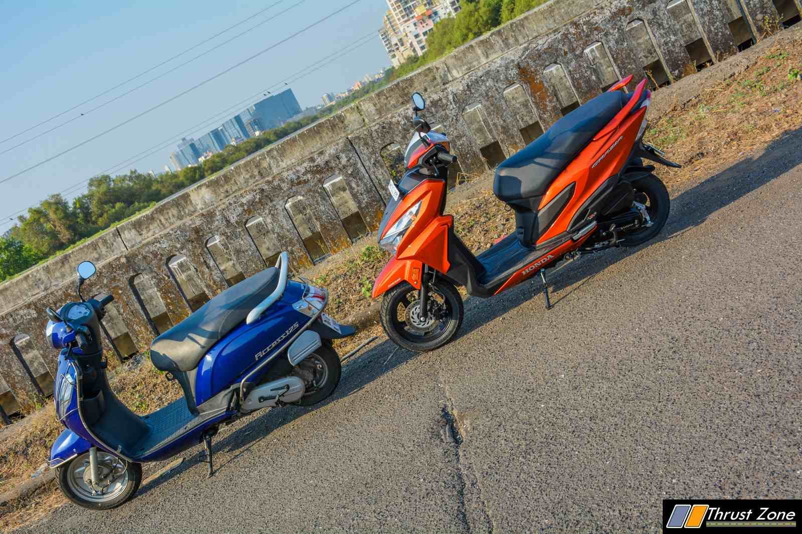 Honda Grazia vs Suzuki Access 125 - Comparison-Shootout-13
