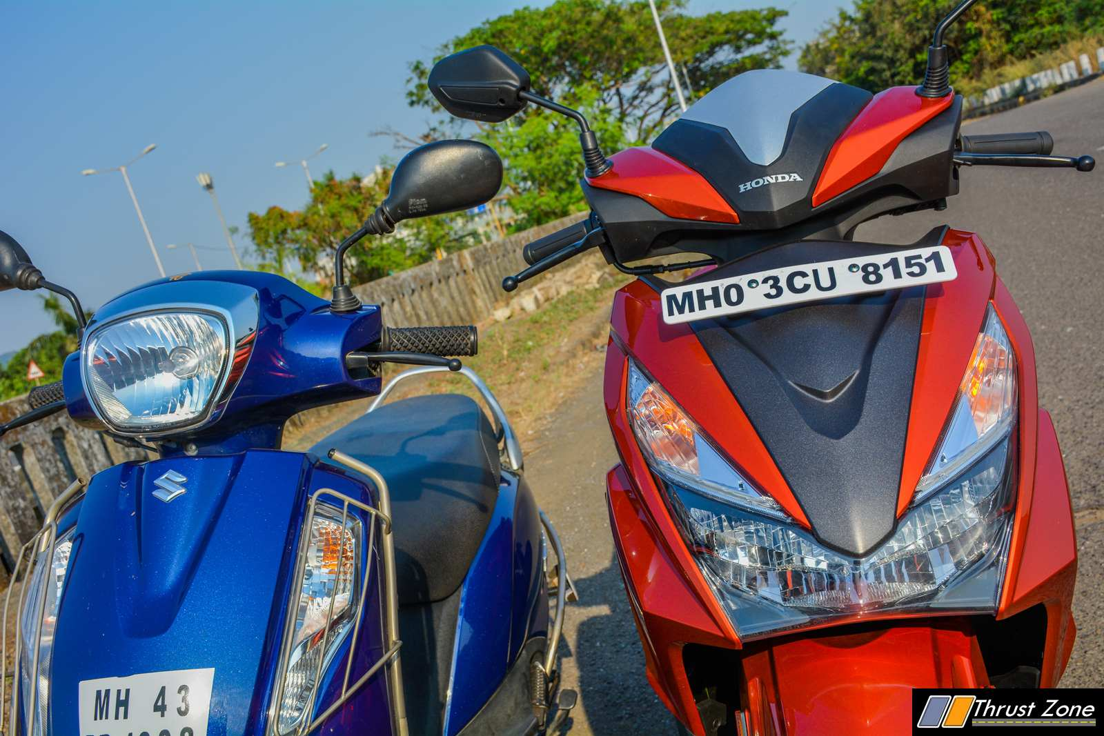 Honda Grazia vs Suzuki Access 125 - Comparison-Shootout-15