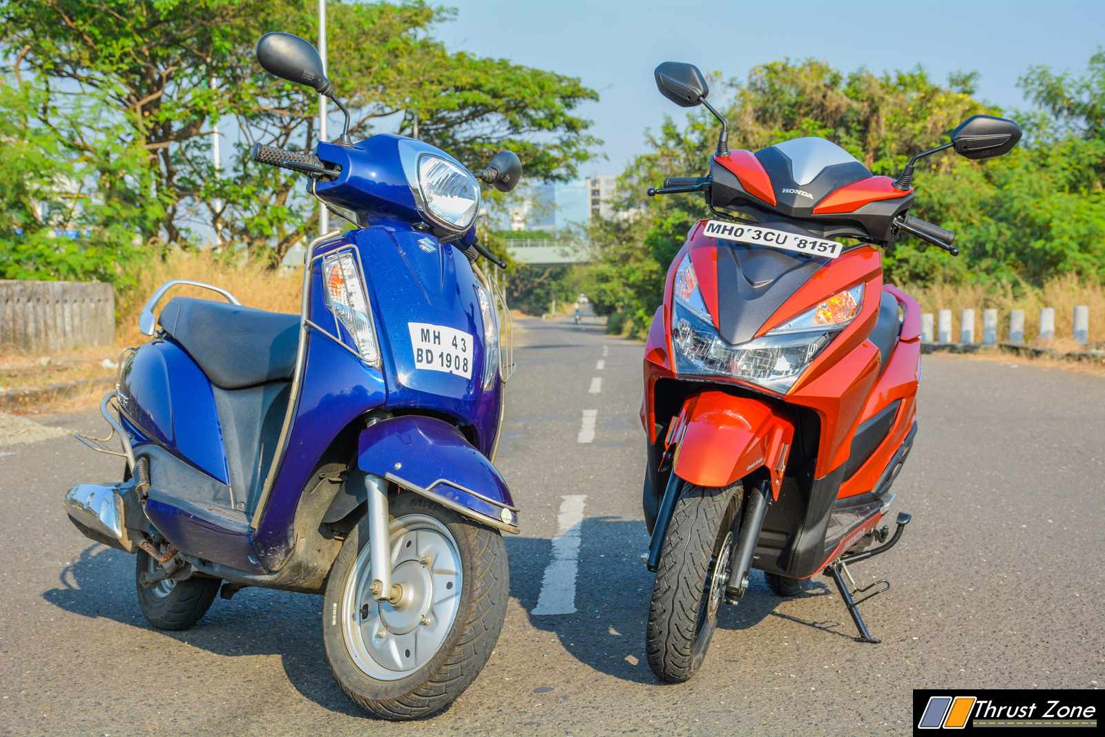 Exclusive Honda Grazia Vs Access 125 Comparison Shootout