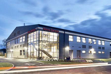 Royal Enfield UK Technical Centre, Leicester1