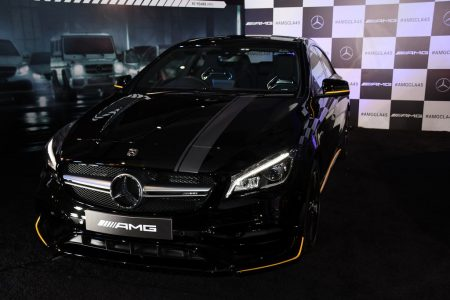 The newly launched Mercedes-AMG CLA 45 4MATIC Aero Edition