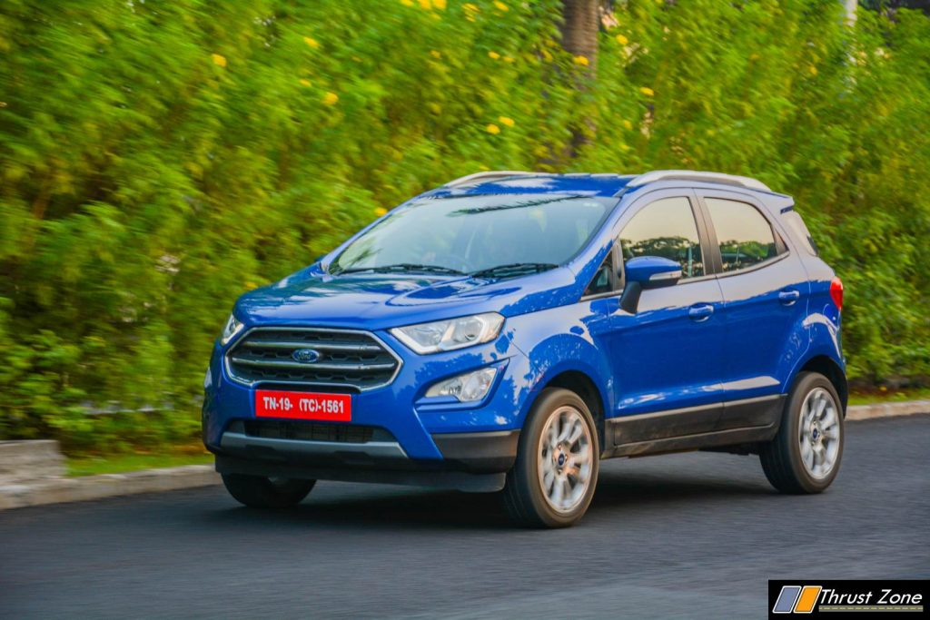 2018 Ford Ecosport Facelift Automatic Review-10