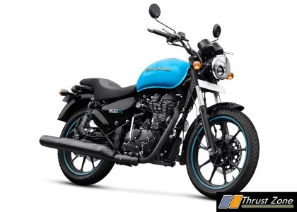 2018 Royal Enfield Thunderbird 500X and 350X (1)