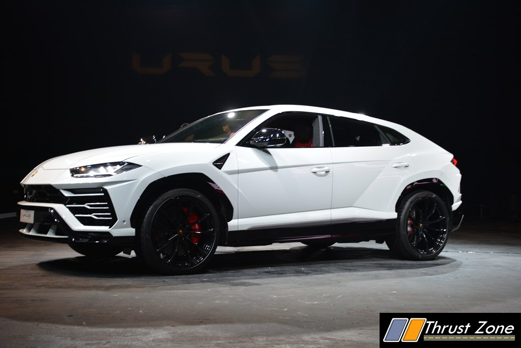 2018 Lamborghini Urus Launched In India For Rs 3 0 Crore Every