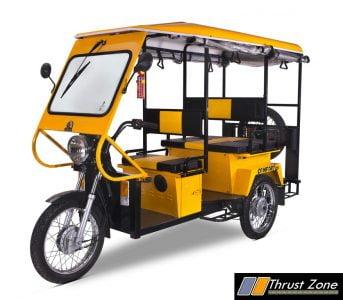 Lohia Auto's Comfort Plus E-Rickshaw