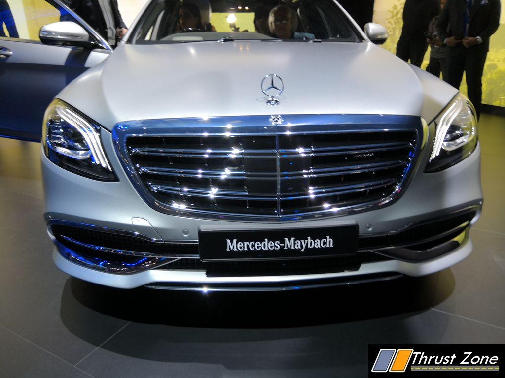 Mercedes maybach s650 revealed at auto expo 2018 for Mercedes benz s650 price