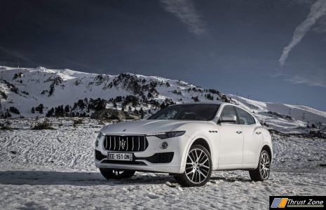 Maserati Levante India suv launch (1)