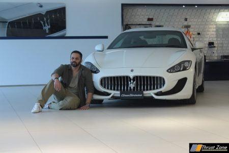 Rohit Shetty_Maserati_GTS