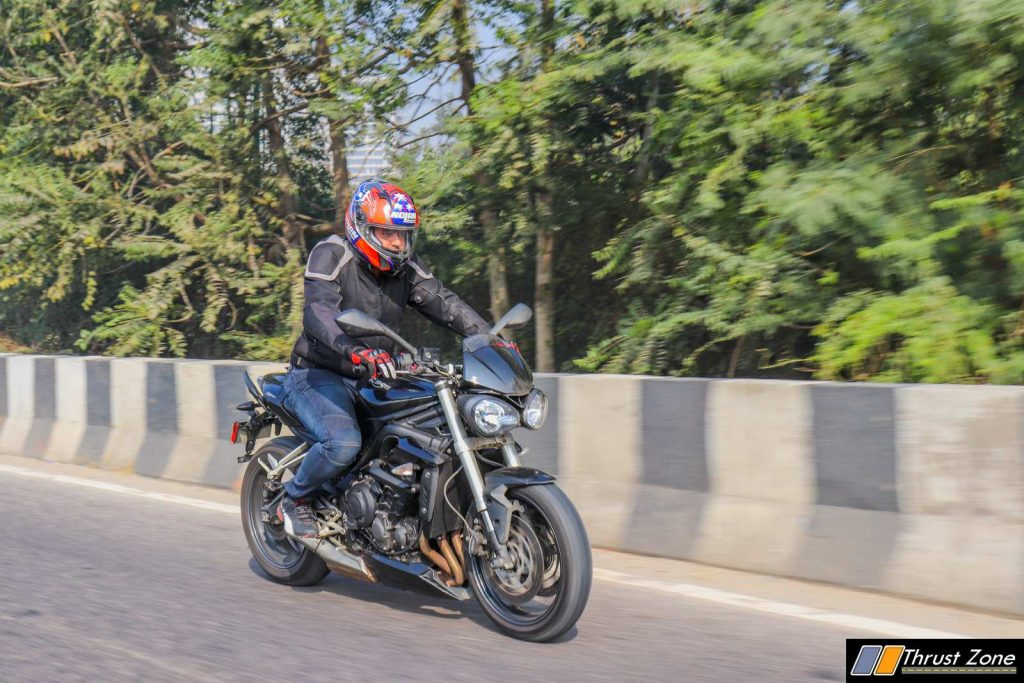 Triumph Street Triple India Review First Ride-18