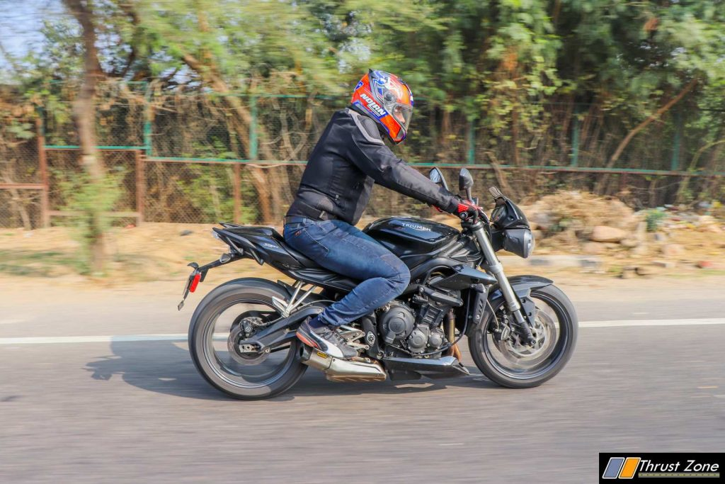 Triumph Street Triple India Review First Ride-21