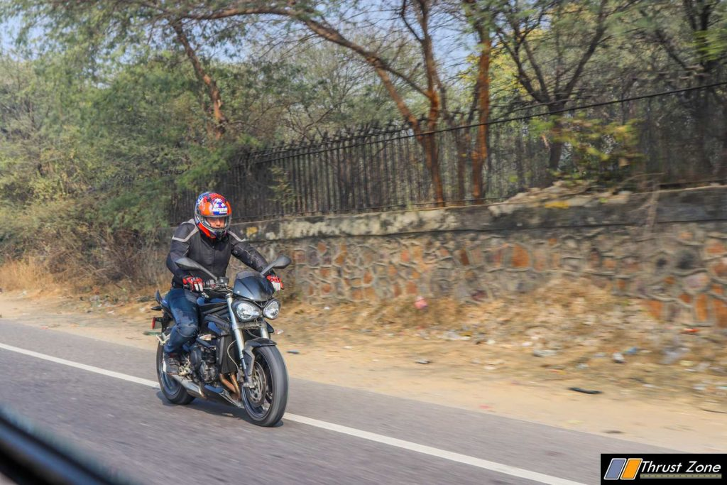 Triumph Street Triple India Review First Ride-22