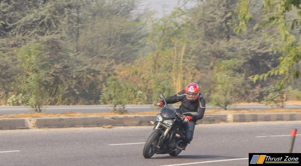 Triumph Street Triple India Review First Ride-24