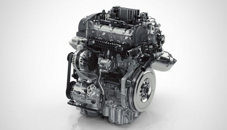 Drive-E 3-cylinder Petrol engine front