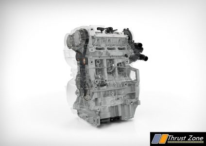 Volvo-Drive-E 3 cylinder Petrol - optimised structure