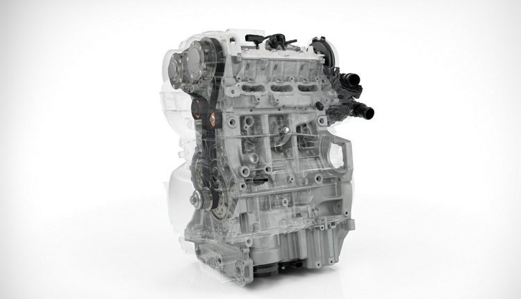 Volvo-Drive-E 3 cylinder Petrol – optimised structure