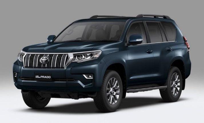 Auto Expo 2018: New Land Cruiser Prado Unveiled