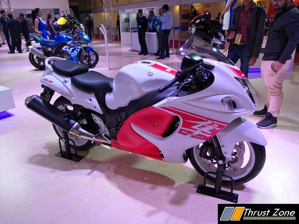 2018 Suzuki Hayabusa Revealed and Launched At Auto Expo 2018