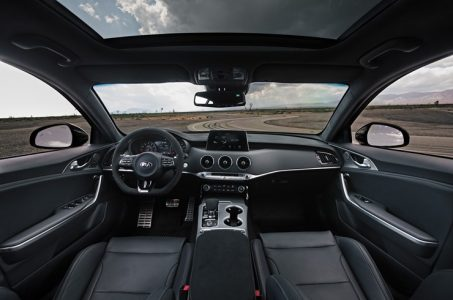 2020 Kia Stinger GTS Interior