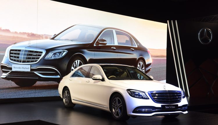 S-Class Facelift India