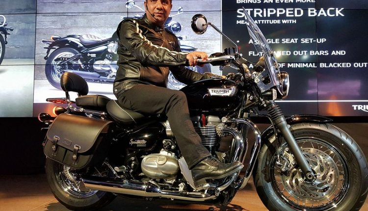 Triumph Bonneville Speedmaster India Launch (1)