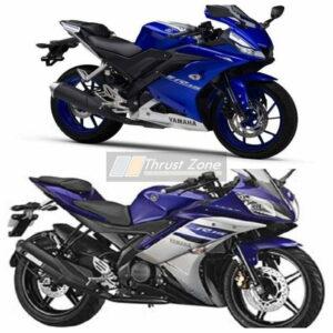 Yamaha R15 V2 vs V3.0 Specification Comparison