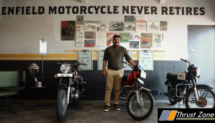 Industry First Royal Enfield Vintage Store Goes