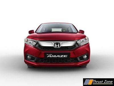 Honda All New Amaze Front