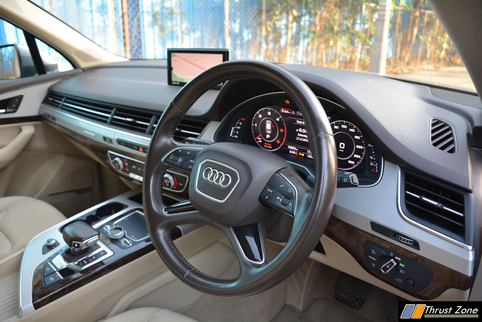 Audi Q7 India Interior Photos