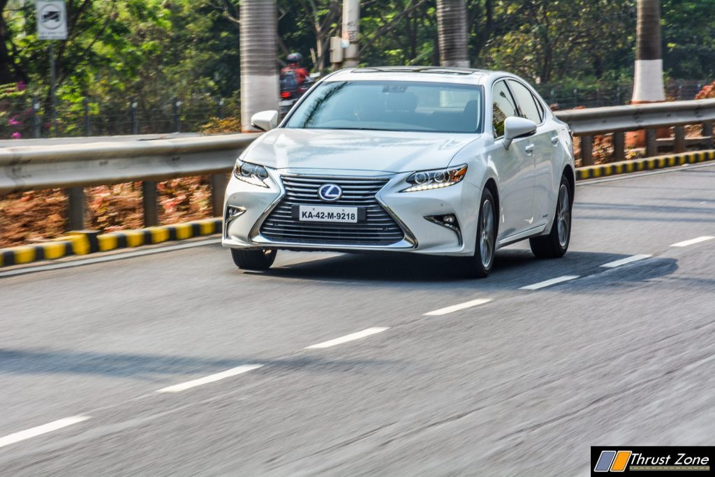 2018 Lexus ES300h India Review, First Drive-2