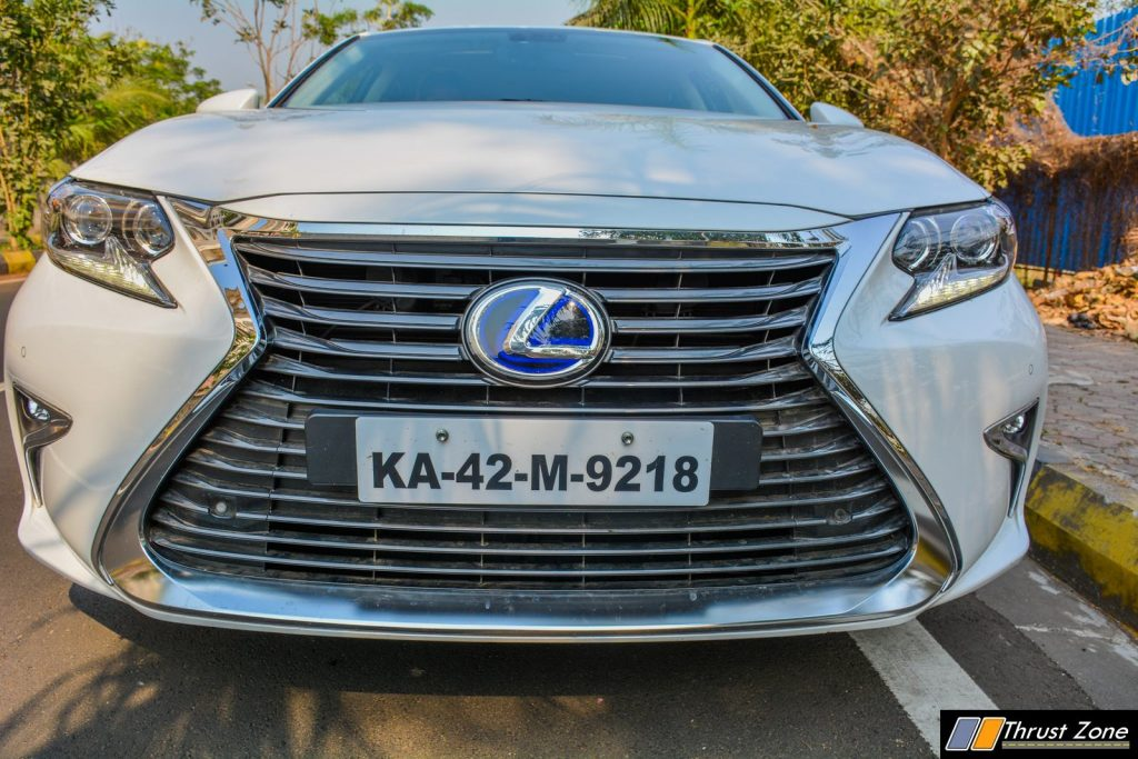 2018 Lexus ES300h India Review, First Drive-20