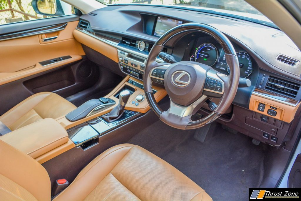 2018 Lexus ES300h India Review, First Drive-25