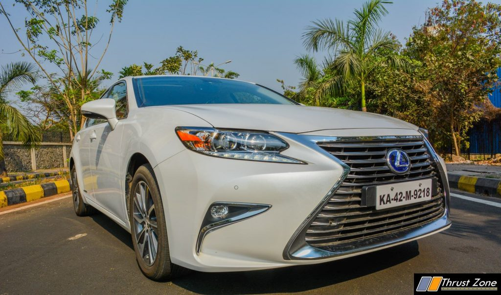 2018 Lexus ES300h India Review, First Drive-31