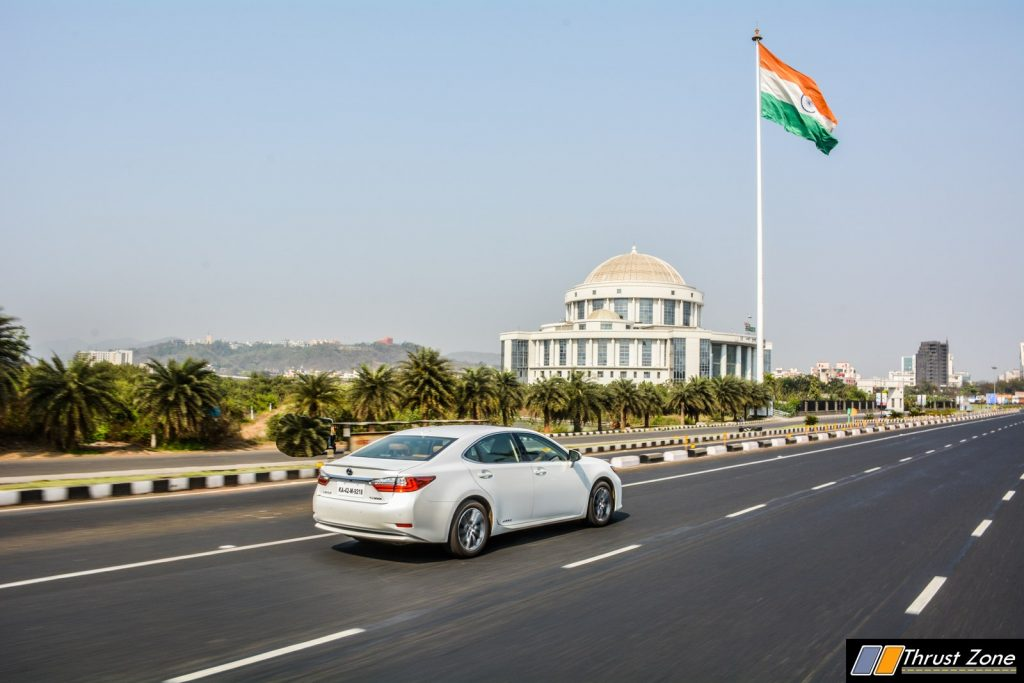 2018 Lexus ES300h India Review, First Drive-6