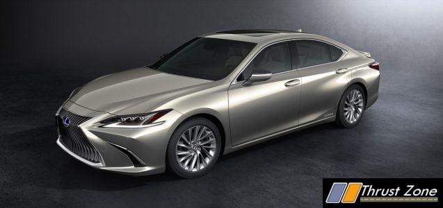 All New 2018 Lexus ES300h (8)