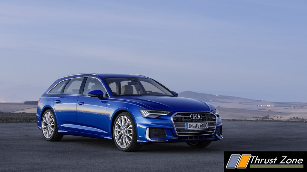 2018 audi a6 avant unveiled the sophisticated station wagon. Black Bedroom Furniture Sets. Home Design Ideas