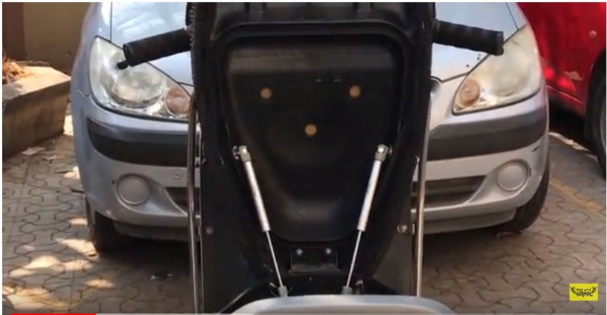 Terrific Video Honda Activa Seat Modification With Hydraulic Struts Caraccident5 Cool Chair Designs And Ideas Caraccident5Info