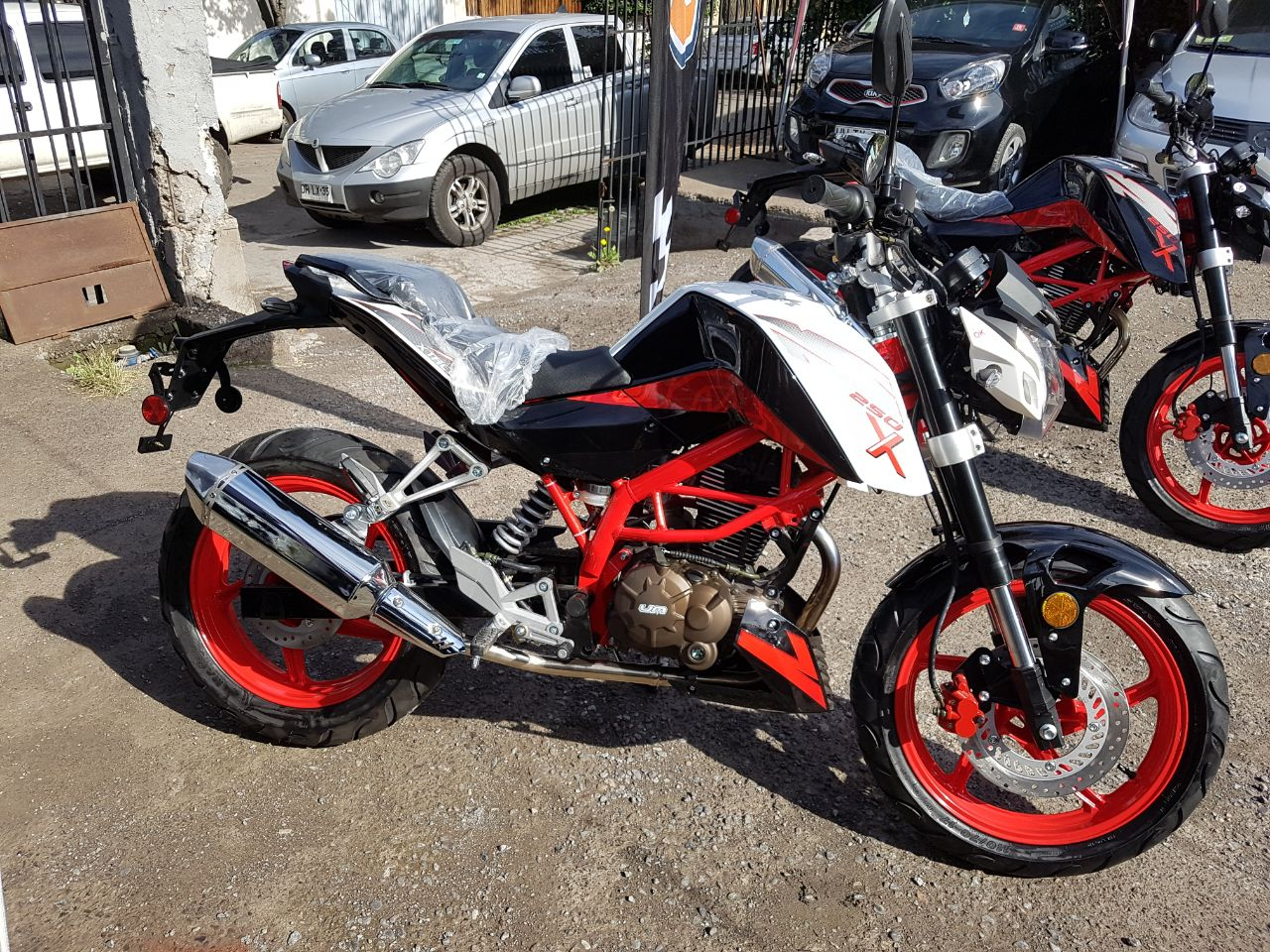 Um Xtreet 250x Is A Chinese Copy Of The Ktm Duke 200