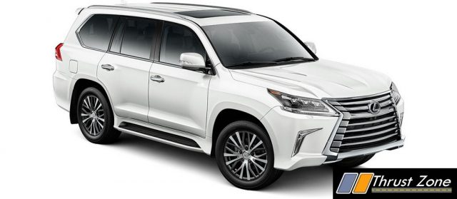 Lexus LX 570 India Petrol V8 Price Specs Launch (2)