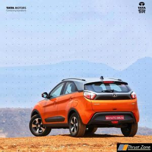 Tata Nexon AMT Petrol Diesel Launched Price Specs (4)